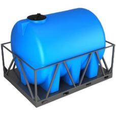 Бак для воды Н 2000 л. в обрешетке