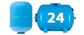 Мембранные баки 24 литра