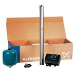 Скважинный насос  GRUNDFOS SQE 3 - 65 Комплект для поддержания постоянного давления